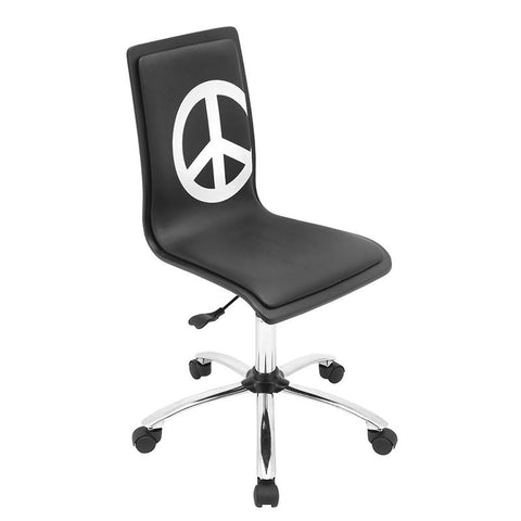 LumiSource OFC-TM-PC BK Printed Office Chair - Peazz.com