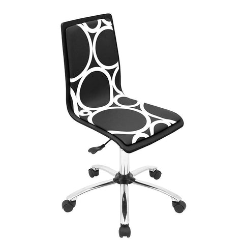LumiSource OFC-TM-PCRC BK Printed Office Chair - Peazz.com