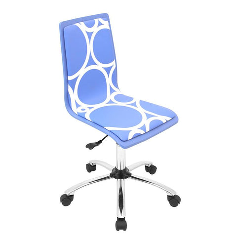 LumiSource OFC-TM-PCRC BU Printed Office Chair - Peazz.com