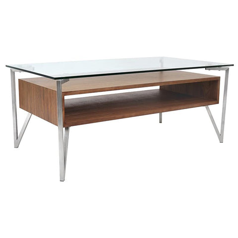 LumiSource TB-HVR-CT WL Hover Coffee Table - Peazz.com