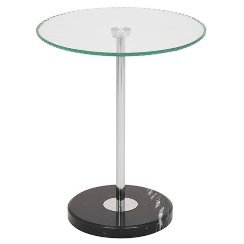 LumiSource TB-RIPPLE Ripple End Table - Peazz.com
