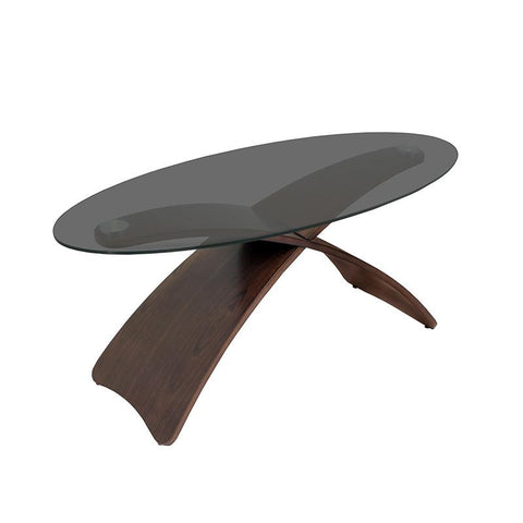 LumiSource TB-SW-CFCRS Criss Cross Coffee Table - Peazz.com