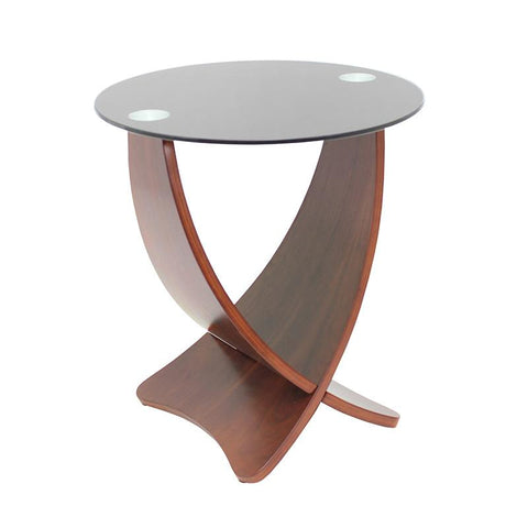 LumiSource TB-SW-ETCRS Criss Cross End Table - Peazz.com
