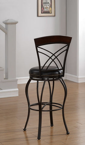 American Heritage Billiard 126144 Caprice Counter Height Stool - BarstoolDirect.com - 1