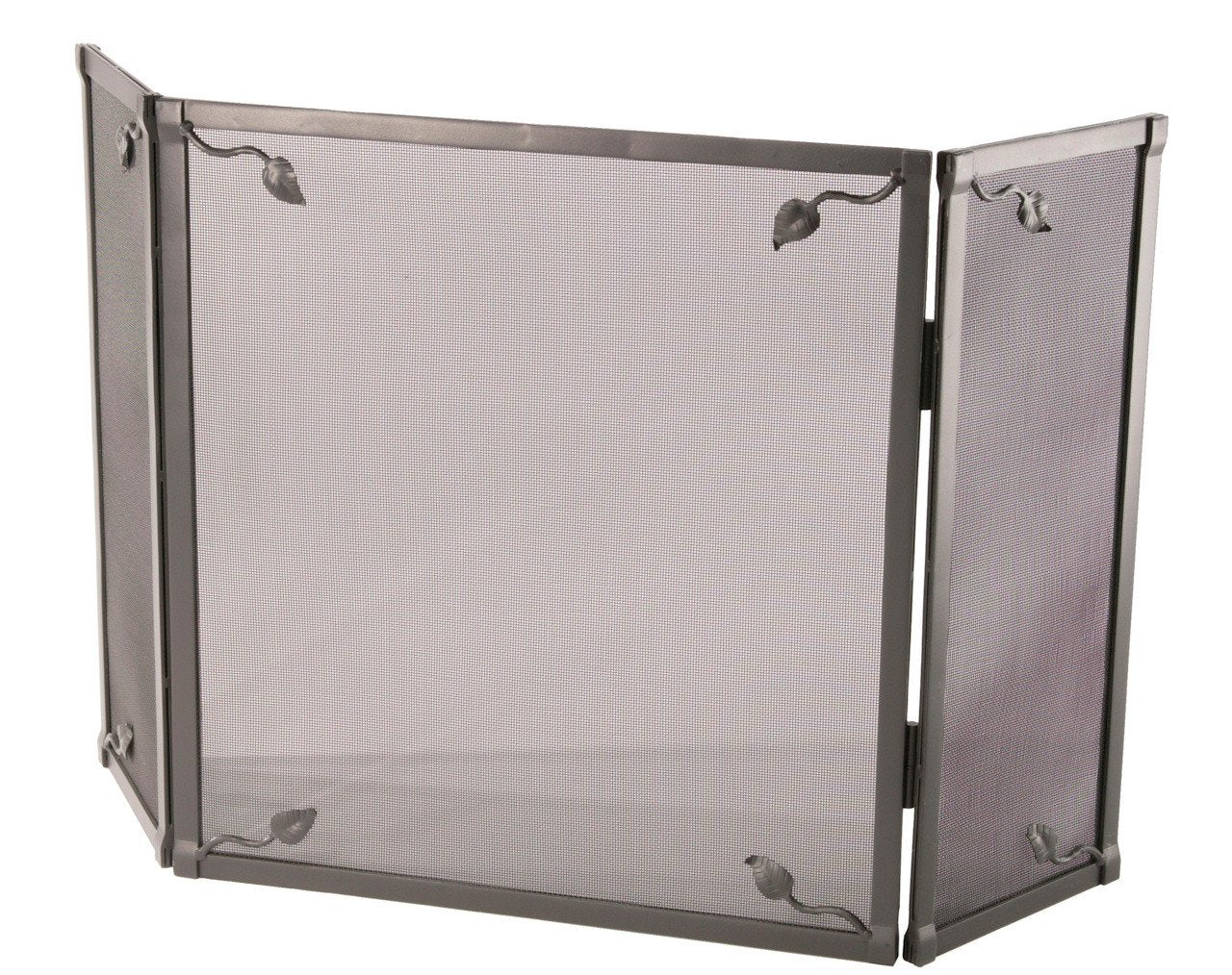 Stone County Triple Panel Fire Screen Leaf