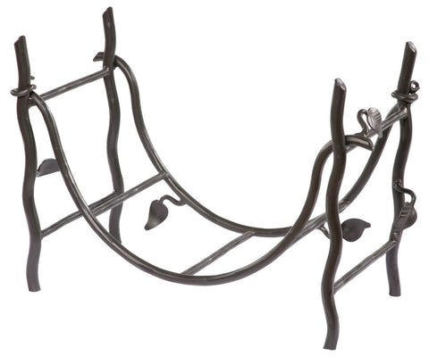 Stone County Ironworks 900-372 Sassafras Iron Log Basket - Peazz.com