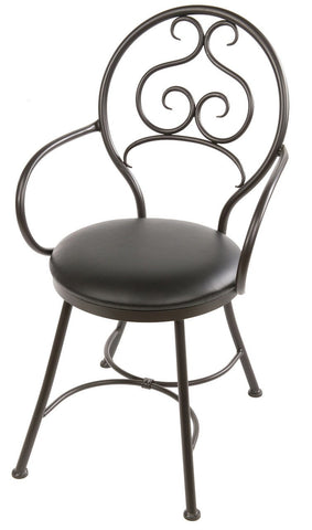 Stone County Ironworks 900-559-LBK Ranfurlie Arm Chair - Peazz.com