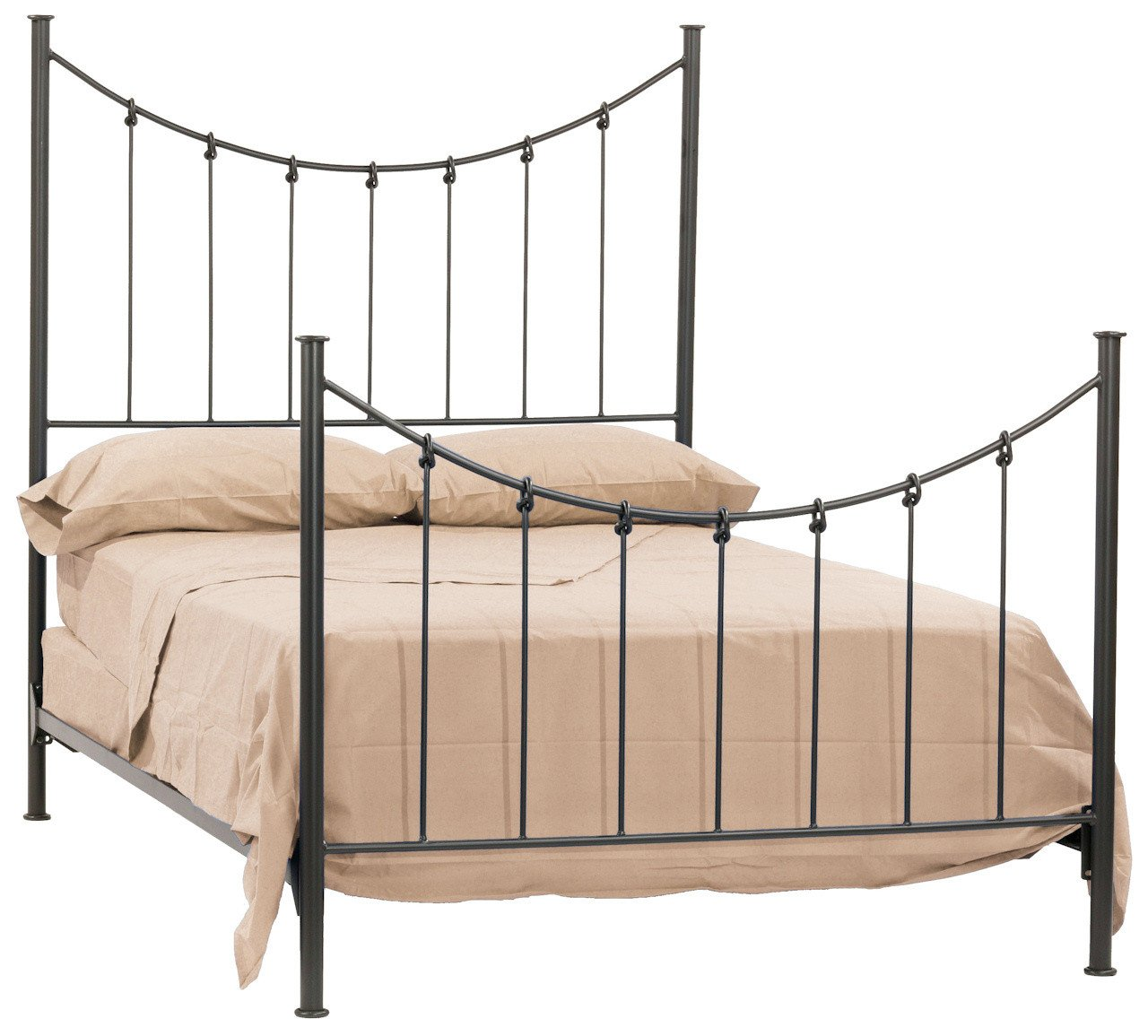 Iron Full Bed Knot - Stone County Bed Image