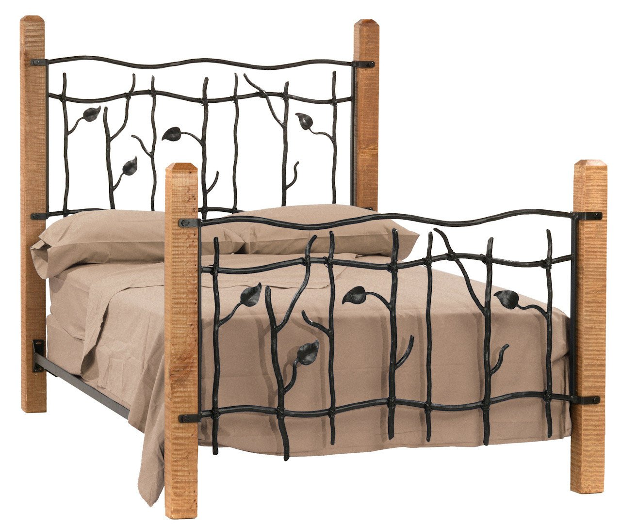 Sassafras California King Bed - Stone County Bed Image
