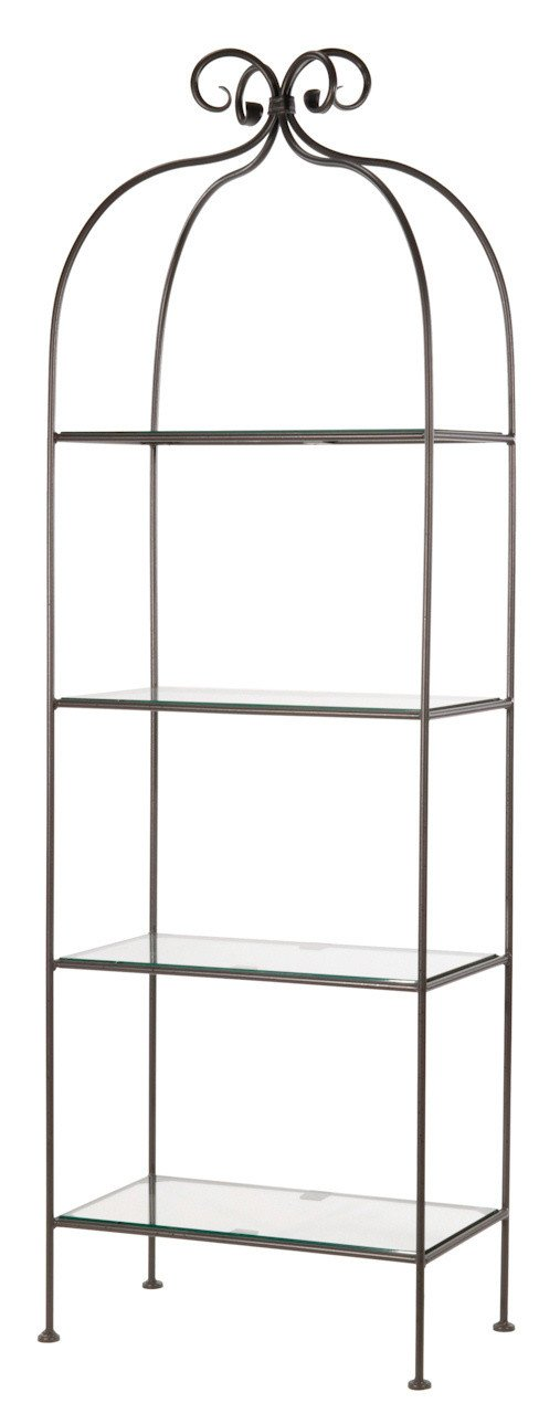 Standing Shelf Double Width Tier Scroll 5007 Product Photo