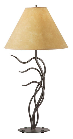 Stone County Ironworks 901-608 Breeze Table Lamp (parchment shade) - Peazz.com