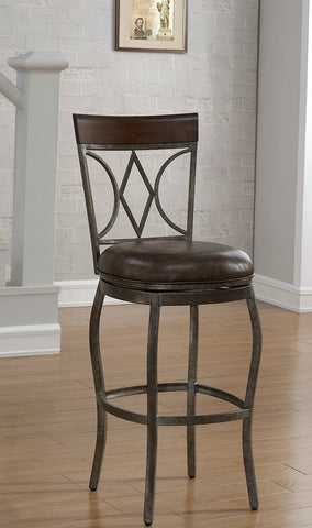 American Heritage Billiard 126148 Infinity Counter Height Stool - BarstoolDirect.com - 1