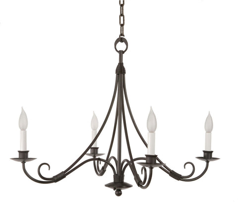 Stone County Ironworks 902-701 Sturbridge 4 Arm Chandelier - Peazz.com