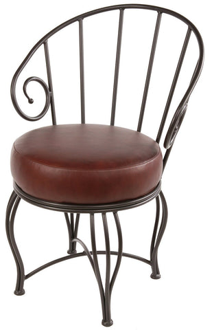 Stone County Ironworks 902-862-LPC Bella Side Chair - Peazz.com