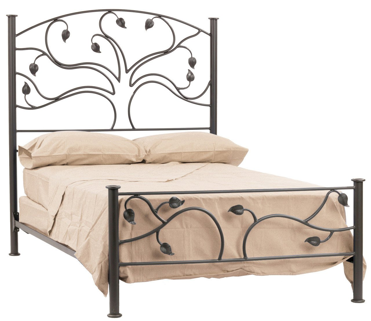 Stone County Oak Queen Bed Live