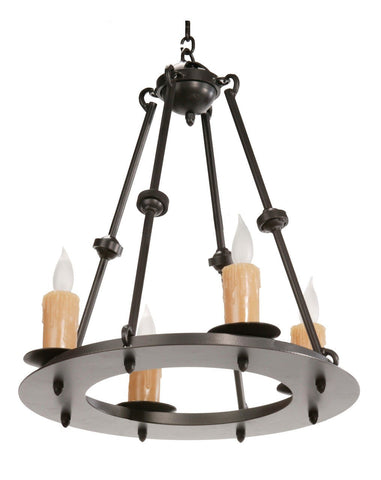 Stone County Ironworks 904-246 Nova 4 Light Chandelier - Peazz.com