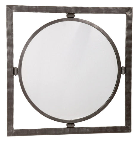 Stone County Ironworks 905-025-LRG Forest Hill Large Round Mirror - Peazz.com