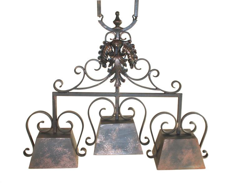 Stone County Arm Chandelier Custom Tuscany