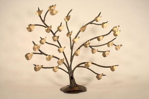 Stone County Ironworks 932-028 Heirloom Quality Iron Family Tree w/ Base - Peazz.com
