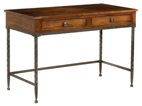 Stone County Ironworks 952-005-WAL Forest Hill Linden Desk - Peazz.com