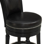 American Heritage Billiard 126156 Chelsea Counter Height Stool in Black - BarstoolDirect.com - 6