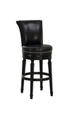 American Heritage Billiard 126156 Chelsea Counter Height Stool in Black - BarstoolDirect.com - 4