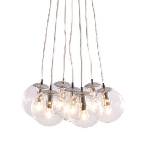 Zuo 50081 Decadence Ceiling Lamp Clear - Peazz.com - 1