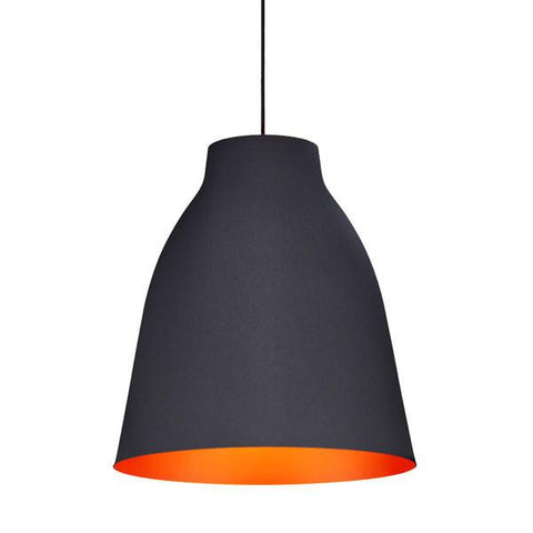 Zuo 98246 Bronze Ceiling Lamp Matte Black - Peazz.com - 1