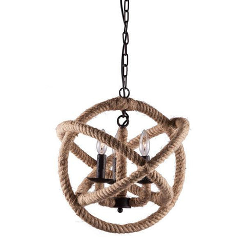 Zuo 98260 Caledonite Ceiling Lamp Twine - Peazz.com
