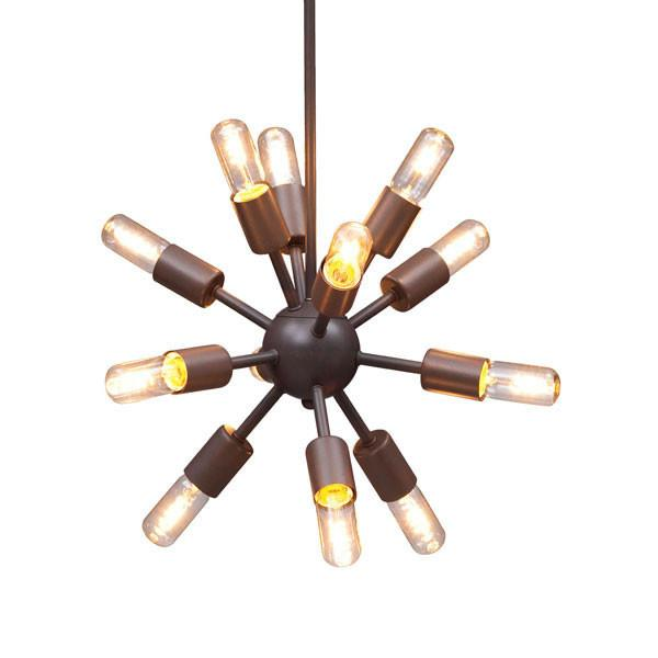 Zuo Ceiling Lamp Small Rust Sapphire