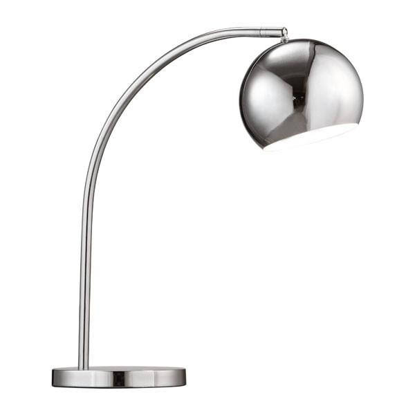 Chrome | Table | Lamp