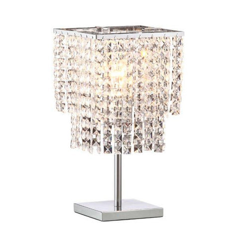 Zuo 50010 Falling Stars Table Lamp Chrome - Peazz.com