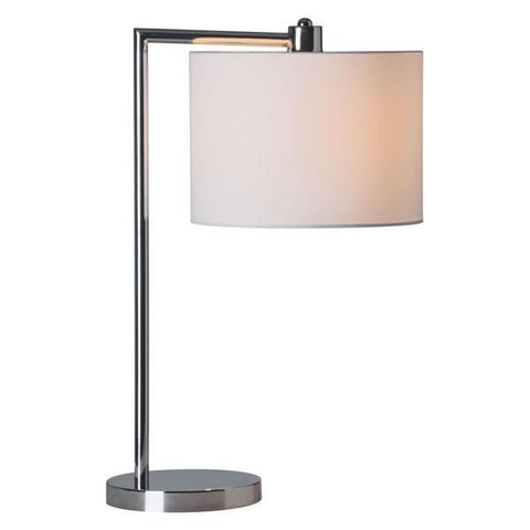 Zuo 50307 Race Table Lamp Chrome - Peazz.com