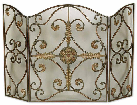 Uttermost 20536 Jerrica Fireplace Screen Accessories - UTMDirect