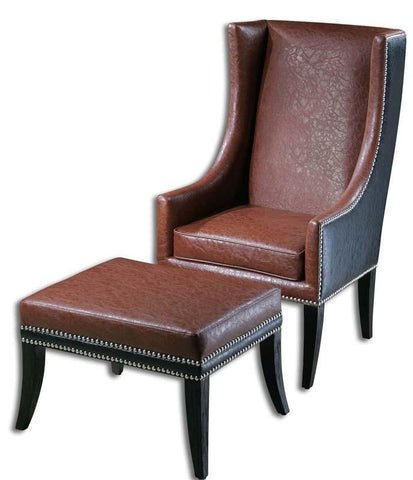 Incredible Ottomans Uttermost Dailytribune Chair Design For Home Dailytribuneorg
