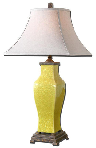 Uttermost 27496 Molvena Burnt Yellow Table Lamp - UTMDirect