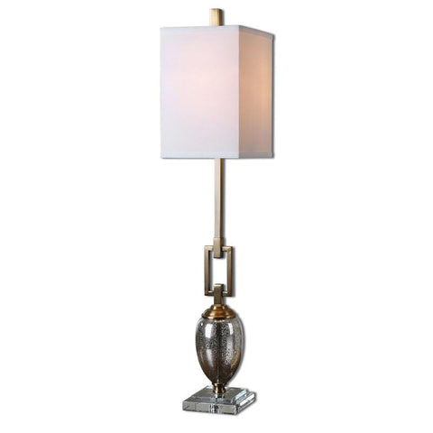 Uttermost 29338-1 Copeland Mercury Glass Buffet Lamp - UTMDirect
