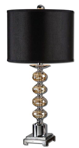 Uttermost 27471-1 Saturna Crystal Table Lamp - UTMDirect