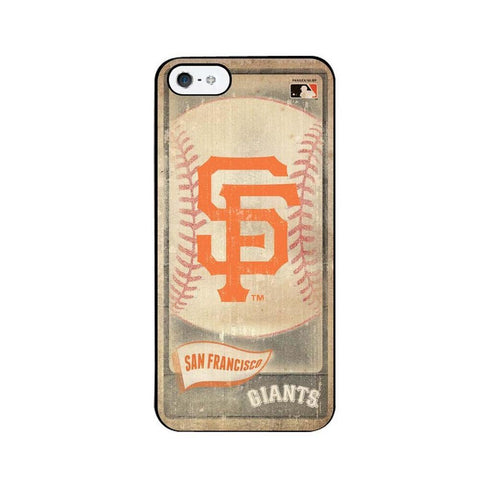 Vintage Iphone 5 Case - San Francisco Giants - Peazz.com