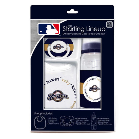 Baby Fanatic Gift Set - Milwaukee Brewers - Peazz.com