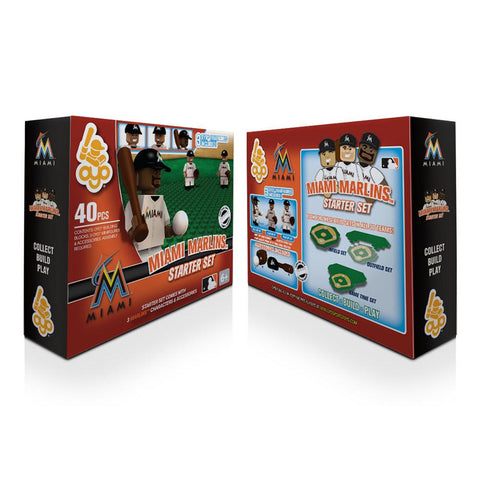 OYO MLB Practice Field Set -  Miami Marlins - Peazz.com