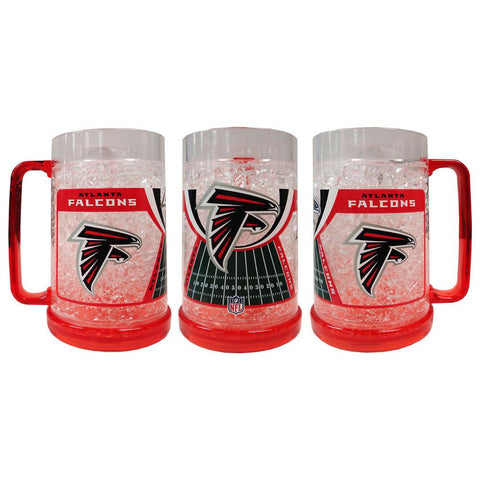 16Oz Crystal Freezer Mug NFL - Atlanta Falcons - Peazz.com