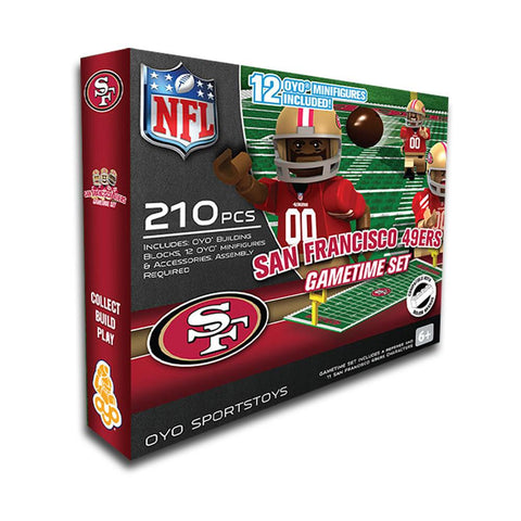 San Francisco 49ers Game Time Set - Peazz.com