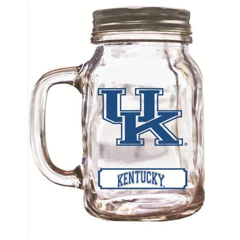 16Oz Mason Jar Kentucky Wildcats - Peazz.com
