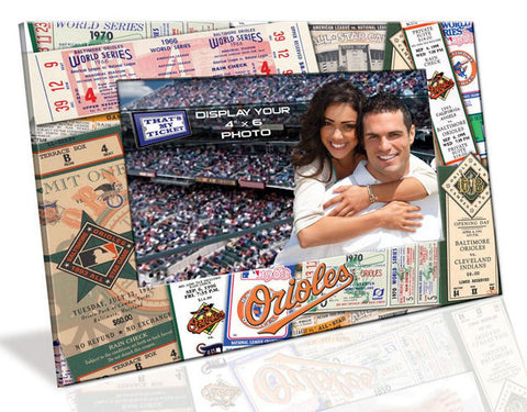 4X6 Picture Frame - Baltimore Orioles - Peazz.com