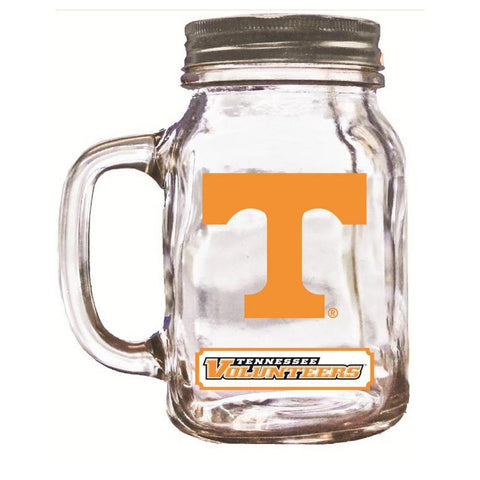 16Oz Mason Jar Tennessee Volunteers - Peazz.com