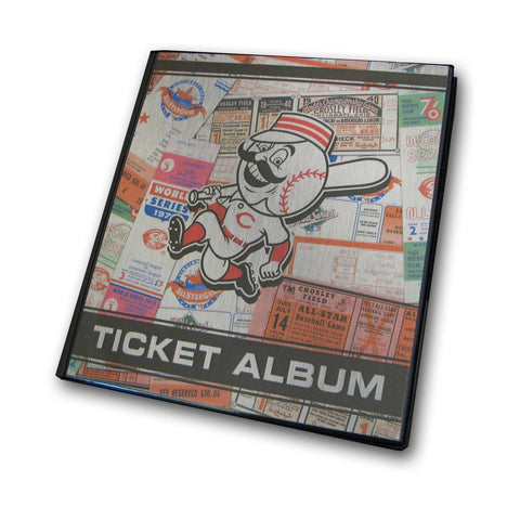 Ticket Album MLB - Cincinnati Reds (Holds 96 Tickets) - Peazz.com