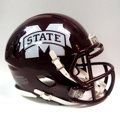 Collegiate Mini Replica Helmet - Mississippi State - Peazz.com