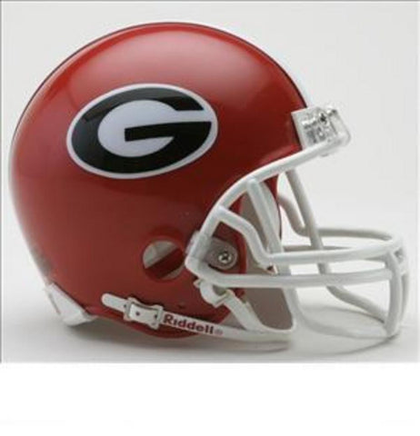 Collegiate Mini Replica Helmet - Georgia - Peazz.com