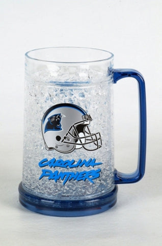 16Oz Crystal Freezer Mug NFL - Carolina Panthers - Peazz.com